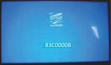 Blue Screen Error DesignJet T120 T520 Plotter
